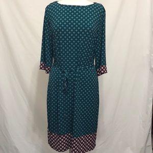 XL Liz Claiborne Career belted dress